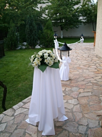 сватба в градината