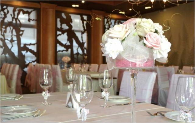 сватба в нежно розово